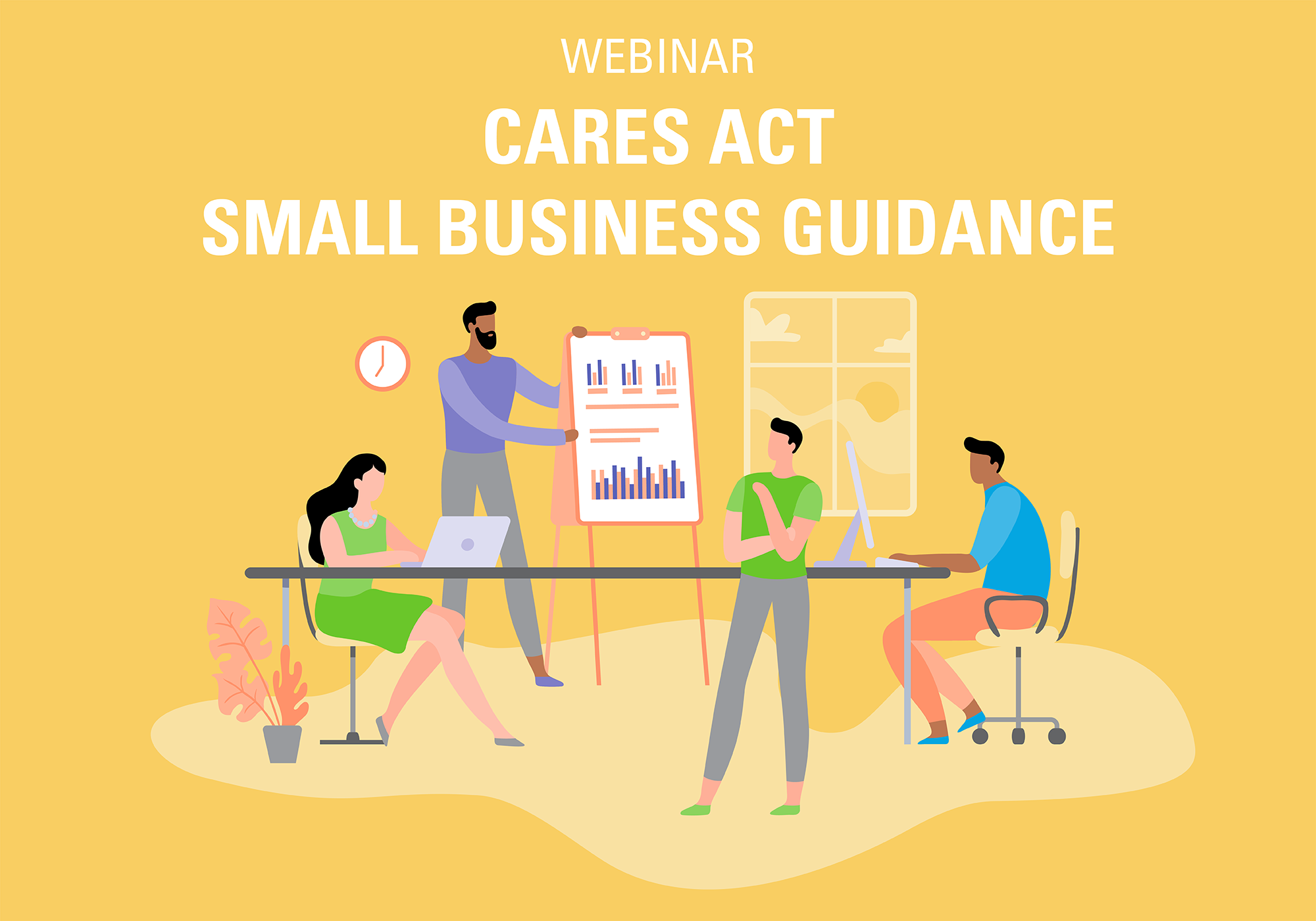webinar cares act small business guidance