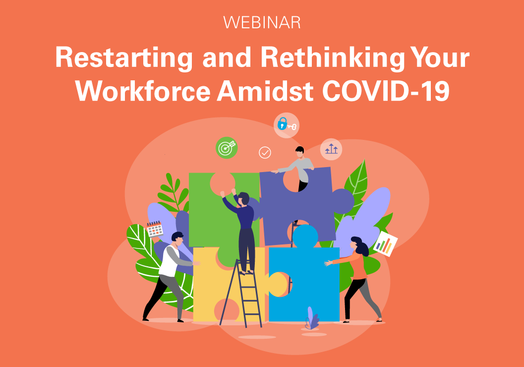 webinar restarting and rethinking your workforce amidst covid-19